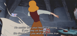 True, Heart, and Http: ND  No matter ho  w your heart is arieving  you keep on believing,  the dream that you wish will come true http://iglovequotes.net/