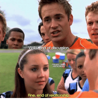 Instagram, Memes, and Girl: nd of discussion  PRIMESCENES  INSTAGRAM  Fine, end of relationship. ShesTheMan tell em' girl. follow @primescenes (me) for more.