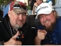 Memes, Ford, and 🤖: ND RESORTS From 2015 at the AT&T Pebble Beach Pro-Am with Colt Ford! Going to be great to seem him and so many others next week!