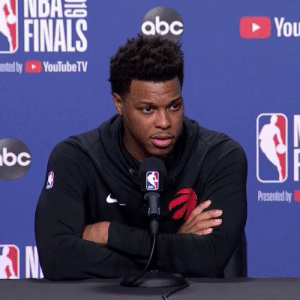 Kyle Lowry explains what real pressure is.  Powerful.: NDAN  abc  FINALS  You  ented by YouTubeTV  bc  NBA  Presented by Kyle Lowry explains what real pressure is.  Powerful.