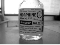 usp: NDC 0409-1134-0  20 mL Fl  Sngle-dosage Fliptop Vial  MORPHINE I  Sulfate Inj., USP R only  50 mg/mL)*  1000 mg  ARNING: MAY BE HABIT FORMING.  CAUTION: FOR DILUTION ONLY  NOT FOR DIRECT INJECTION. Hospira  RIAINC, LAKE FOREST, IL 6045 USA