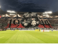 Poland, Kick, and Warsaw: NDS  DURING THE WARSAW UPRISING GERMANSKI Legia Warszawa supporters before kick off