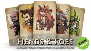 Monster, Foe, and Nds: NDS & FOE  ADORABLY DEADLY CHIBI STYLE 5E MONSTER CARDS