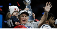 """""""We're still here.""""  Coach Belichick and @Patriots keep the dynasty going: https://t.co/pF5NIKNxSg https://t.co/sntvwhL6IZ: NE  CHA """"We're still here.""""  Coach Belichick and @Patriots keep the dynasty going: https://t.co/pF5NIKNxSg https://t.co/sntvwhL6IZ"""