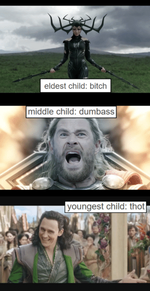 Bitch, Saw, and Target: Ne  eldest child: bitch   middle child: dumbass   youngest child: thot universesvisiting:  saw this post at @michaelburnhamfanclub and couldn't resist…  it fits them too well