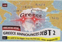 News, Breaking News, and Greece: NE  Greece  BREAKING NEWS  EBT 2  es seid to be bigwer than the firit one says expert  GREECE ANNOUNCES D