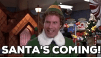 Christmas, Memes, and Sleep: NE  SANTA'S COMING! Just one more sleep and it's #Christmas https://t.co/bxUIjzilVK