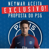 Neymar has reportedly accepted a deal with PSG , who will pay his €222M release clause 😳😱 - [Source: Marcelo Bechler for Esporte Interativo]: NE YMAR ACEITA  EXCLUSIVO  PROPOSTA DO PSG Neymar has reportedly accepted a deal with PSG , who will pay his €222M release clause 😳😱 - [Source: Marcelo Bechler for Esporte Interativo]
