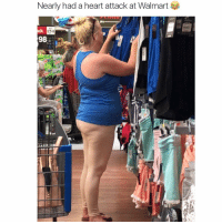 In other news she must really love blue tank tops!: Nearly had a heart attack at Walmart  98 In other news she must really love blue tank tops!