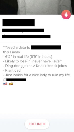 """Dad, Friday, and Life: """"Need a date t 