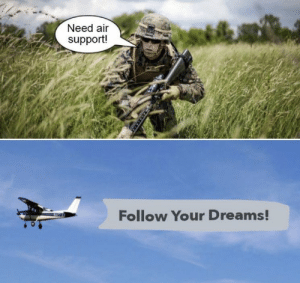 https://t.co/TBL3DkVL83: Need air  support!  Follow Your Dreams! https://t.co/TBL3DkVL83