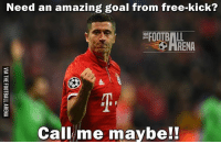 Lewandowski!!! What A Goal 😱➡️ Link In Our Bio! 🔥: Need an amazing goal from free-kick?  Call me maybe!! Lewandowski!!! What A Goal 😱➡️ Link In Our Bio! 🔥