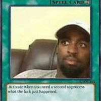 Meme card deck.: need asecond to  what the fuxk jest uppened Meme card deck.