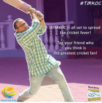 Memes, Cricket, and Film: Neela Tele Film  #TMKOC  HTMKOC is all set to spread  the cricket fever!  Tag your friend who  you think is  the greatest cricket fan!  Taarak Mehta  CHASHMAH This #IPLSeason let's spread some #cricketfever!  Tag your friend who you think is the biggest cricket fan and let's create a #TMKOCGPL chain by tagging them in the comments box below. #TMKOC