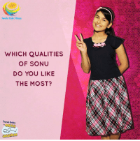 Love, Memes, and 🤖: Neela Tele Films  WHICH QUALITIES  OF SONU  DO YOU LIKE  THE MOST?  Taarak Mehta Which qualities of #Sonu #Bhide do you love the most?  Tell us in the comments section below!  #TMKOC