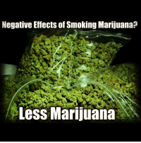 Marijuana: Negative Effects of Smoking Marijuana?  2  Less Marijuana
