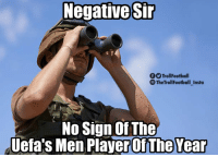 Memes, 🤖, and Player: Negative Str  f TrollFootball  TheTrollFootball Insta  No Sign Of The  Uefa's Men Player Of The Yealr Has anyone seen Modric? https://t.co/ENXdhlS4s8