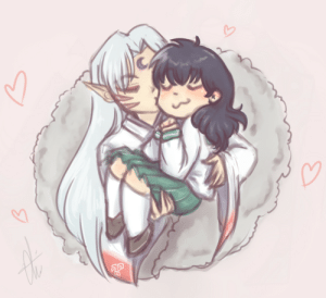 Love, Target, and Tumblr: nekoyinu:  !!! I love them, i love this couple~! since i never drawn them in digital so.. uh… Better late than never! righ?? :'D
