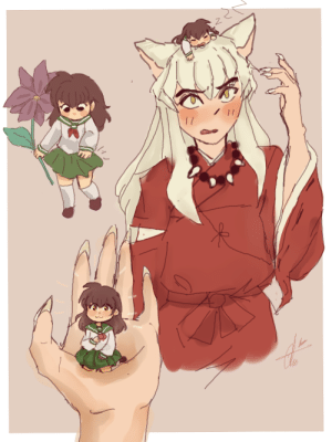 nekoyinu: Pocket Kagome…      i want three to take away, thanks. : nekoyinu: Pocket Kagome…      i want three to take away, thanks.