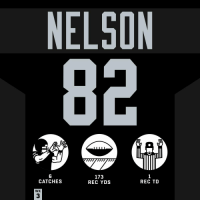 Memes, Game, and Raiders: NELSON  6  CATCHES  173  REC YDS  1  REC TD  WK  3 Despite the loss, @JordyRNelson had a big game for the @Raiders! #HaveADay #OAKvsMIA  #RaiderNation https://t.co/OUBr1sP9zR