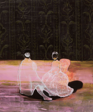 neoyorzapoteca: Lisa Wright, After the Masked Visitor, 2015: neoyorzapoteca: Lisa Wright, After the Masked Visitor, 2015
