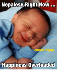 Good Night Guys... Kati Hasnu 😄😄😄: Nepalese Right Now  meme  Happiness overloaded Good Night Guys... Kati Hasnu 😄😄😄