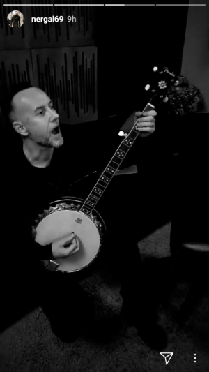 Tumblr, Blog, and Http: nergal69 9h blackmetallersdoingnormalstuff: Am I right to assume that the new Behemoth album will have a banjo?! Hoest would be proud.