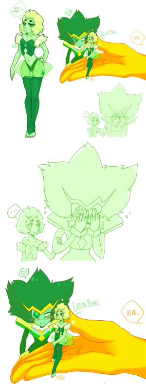 Lol, Tumblr, and Blog: NES MY  EMERALD  TREEN PEARL  ERE  ok   REN PARL  ERE netamikatze:  i've waited so long to create my own 'pearlsona' …lol