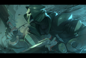 Tumblr, Blog, and Http: nesskain:  Reaper Pushing the rendering more than usual. I really don't have any patience _.