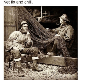 Chill, _______ and Chill, and Net: Net fix and chill. Net fix and chill