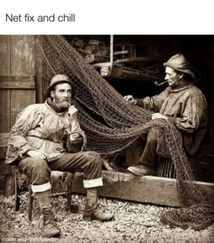 Happy New Year's Eve: Net fix and chill  TR  made with mematic Happy New Year's Eve