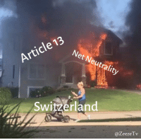 Switzerland, Net, and Net Neutrality: Net Neutrality  Article 13  Switzerland  @ZeezeTv