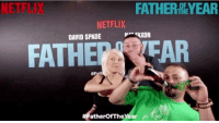 We had way too many laughs, downed a few too many drinks and threw a few friendly punches at the screening of the new film Father of the Year! If you haven't seen it, watch it on @Netflix NOW. #ad https://t.co/rEVAL81TTD https://t.co/kt1sVYtEiA: NETFLIX  FATHERDEYEAR  NETFLIX  DAVID SPADE  FATHEEAR  #F  atherOfTheYear We had way too many laughs, downed a few too many drinks and threw a few friendly punches at the screening of the new film Father of the Year! If you haven't seen it, watch it on @Netflix NOW. #ad https://t.co/rEVAL81TTD https://t.co/kt1sVYtEiA