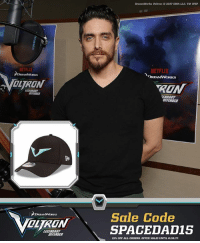 Dad, Fathers Day, and Memes: NETFLIX  ILTRUN  DEFENDER  DreamWorks Voltron 02017DWA LLC TM WEP  NETFLIX  RON  MEFENDER  Sale Code  SPACEDA 015  15% OFF ALL ORDERS. OFFER VALID UNTIL 6/10/17 Get your dad (or yourself) a signed hat by the voice of Shiro SpaceDad JoshKeaton. Limited to 40 and will arrive after Father's Day. 15% off all orders. Offer valid until 6-18-17. store.voltron.com