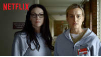 Funny, Netflix, and Movie: NETFLIX  INMATES KEEP Movie  STOPPING IN I'M SO READY FOR OITNB https://t.co/3aj0ONL4O9