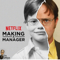 Netflix, The Office, and Office: NETFLIX  MAKING  MANAGER  The  Office