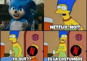 Crazy, Dank, and Funny: NETFLIX NO!!  ID  YOQUE??  ES LA COSTUMBRE #lol #lmao #hilarious #laugh #photooftheday #friend #crazy #witty #instahappy #joke #jokes #joking #epic #instagood #instafun  #memes #chistes #chistesmalos #imagenesgraciosas #humor #funny  #amusing #fun #lassolucionespara #dankmemes  #dank  #funnyposts #haha #memondo #funnypictures #youtube #instagram