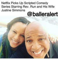 "Netflix Picks Up Scripted Comedy Series Starring Rev. Run and His Wife Justine Simmons – blogged by @MsJennyb ⠀⠀⠀⠀⠀⠀⠀ ⠀⠀⠀⠀⠀⠀⠀ RevRun is making his return to the small screen in a Netflix scripted comedy series, starring the rapper and his wife, Justine Simmons. ⠀⠀⠀⠀⠀⠀⠀ ⠀⠀⠀⠀⠀⠀⠀ According to Variety, the Netflix series, which is currently untitled, will follow the life of the legendary artist and his wife, as they battle between wanting to take it easy and Justine wanting to pursue her own dreams. Although the series is scripted, it will be loosely based on the couple's lives. ⠀⠀⠀⠀⠀⠀⠀ ⠀⠀⠀⠀⠀⠀⠀ The show, created by Jeremy Bronson of ABC's ""The Mayor,"" was picked up by the streaming service after ABC declined to order it to a series. However, ABC Studios pulled some strings and took it to the market, prompting the streaming service to call dibs. Bronson will also work on the script for the show, alongside Amblin TV and ABC Studios, who will be in production for the sitcom.: Netflix Picks Up Scripted Comedy  Series Starring Rev. Run and His Wife  Justine Simmons  @balleralert Netflix Picks Up Scripted Comedy Series Starring Rev. Run and His Wife Justine Simmons – blogged by @MsJennyb ⠀⠀⠀⠀⠀⠀⠀ ⠀⠀⠀⠀⠀⠀⠀ RevRun is making his return to the small screen in a Netflix scripted comedy series, starring the rapper and his wife, Justine Simmons. ⠀⠀⠀⠀⠀⠀⠀ ⠀⠀⠀⠀⠀⠀⠀ According to Variety, the Netflix series, which is currently untitled, will follow the life of the legendary artist and his wife, as they battle between wanting to take it easy and Justine wanting to pursue her own dreams. Although the series is scripted, it will be loosely based on the couple's lives. ⠀⠀⠀⠀⠀⠀⠀ ⠀⠀⠀⠀⠀⠀⠀ The show, created by Jeremy Bronson of ABC's ""The Mayor,"" was picked up by the streaming service after ABC declined to order it to a series. However, ABC Studios pulled some strings and took it to the market, prompting the streaming service to call dibs. Bronson will also work on the script for the show, alongside Amblin TV and ABC Studios, who will be in production for the sitcom."