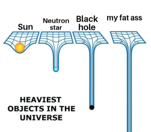 Ass, Fat Ass, and Reddit: Neutron Black my fat ass  hole  Sun  star  HEAVIEST  OBJECTS IN THE  UNIVERSE I need to get my stuff together