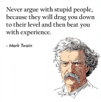 25 Best Argue With An Idiot Memes Beat You With Experience Memes