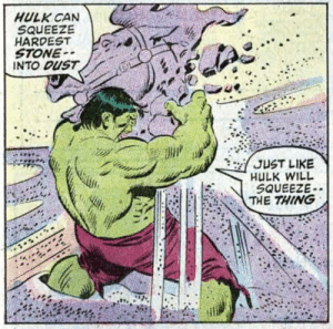 Never ask The Hulk for a hand job.: Never ask The Hulk for a hand job.