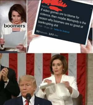 Never before have boomers been so offended with something they 100% agree with: Never before have boomers been so offended with something they 100% agree with