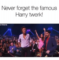 Perrie's reaction was the best! 😂😂😂: Never forget the famous  Harry twerk!  ETROI16 Perrie's reaction was the best! 😂😂😂