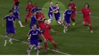Never forget when John Terry marked Gary Cahill during a corner.: Never forget when John Terry marked Gary Cahill during a corner.