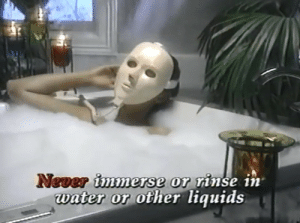 Kitana is that you: Never immerse or rinse in  water or other liquids Kitana is that you