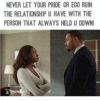 In relationship a and pride ego Signs of
