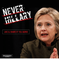 Facts, Hillary Clinton, and Memes: NEVER  LIKE & SHARE IF YOU AGREE FACT: Hillary Clinton lost this debate. LIKE and SHARE if you are #NeverHillary  www.wisgop.org