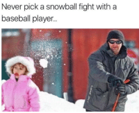 Baseball, Mlb, and Jewelry: Never pick a snowball fight with a  baseball player Painful life lessons  via hof_jewelry