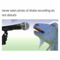 That song was 🔥🔥 and the album was a classic don't @ me: never seen photo of drake recording do  not disturb That song was 🔥🔥 and the album was a classic don't @ me
