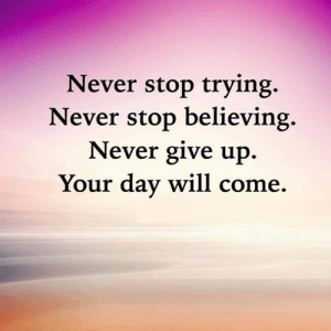 Stop Believing